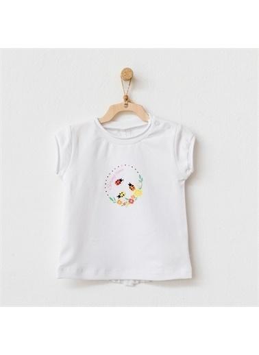 Andy Wawa Andywawa Hello Sunshine Bebek Tshirt Ac21847 Beyaz